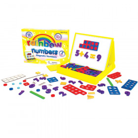Rainbow Numbers Magnetic Numbers, 155 Pieces