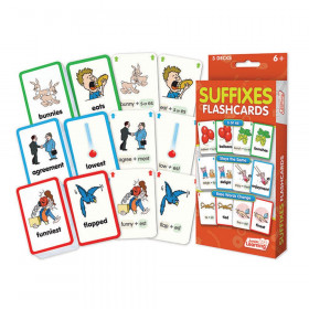 Suffixes Flash Cards