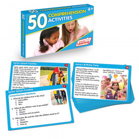 Language Arts Activity Cards Comprehension