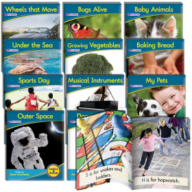 Nonfiction Readers, Phonemic Awareness