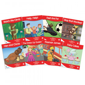 Fantails Book Banded Readers, Red Fiction, Levels B-D