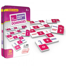 Ten Frames Dominoes