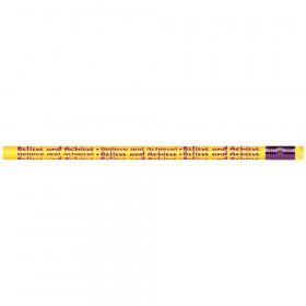 Believe and Achieve Pencils, Dozen