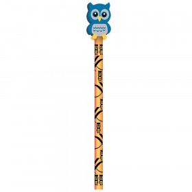 Pencil And Eraser Topper Hoot Owl Writeons