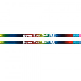 Never, Ever Quit Pencils, Dozen