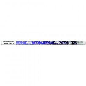 Pencils Snowflakes Glitz Asst 12/Pk