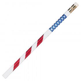 Pencils Stars & Stripes 12/Pk