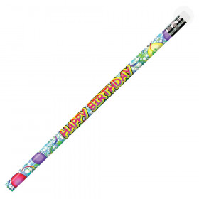 Happy Birthday Glitz Pencils, Pack of 12