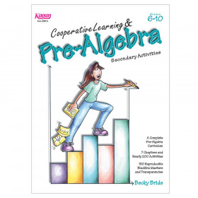 Cooperative Learning & Pre-Algebra Secondary Activities Book, Grade 6-10