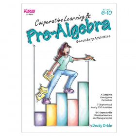 Cooperative Learning & Pre-Algebra Secondary Activities Book, Grade 6-10