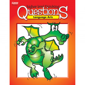 Language Arts Higher-Level Thinking Questions Book, Grade: 3-12