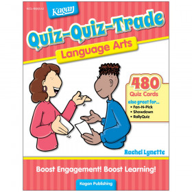 Quiz-Quiz-Trade: Language Arts, Grades 2-6