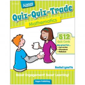 Quiz-Quiz-Trade: Mathematics (Grades 2-4)