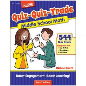 Quiz-Quiz-Trade-Middle School Math, Level 1
