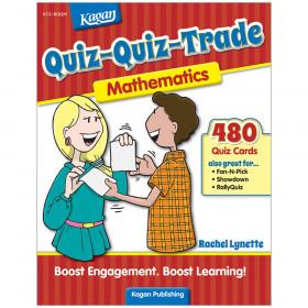 Quiz-Quiz-Trade: Mathematics, Grades 3-6