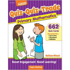 Quiz-Quiz Trade: Primary Math (Grades K-2)