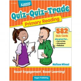 Quiz-Quiz-Trade: Primary Reading, Grades K-2