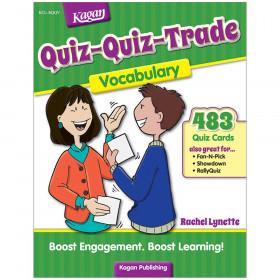 Quiz-Quiz-Trade, Vocabulary for Grades 2-6