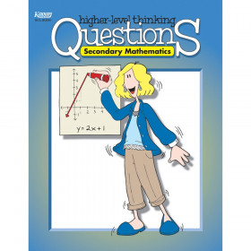 Secondary Mathematics Higher Level Thinking Questions Book, Grade 7-12
