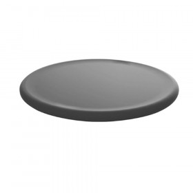 Floor Wobbler Balance Disc for Sitting, Standing, or Fitness, Grey