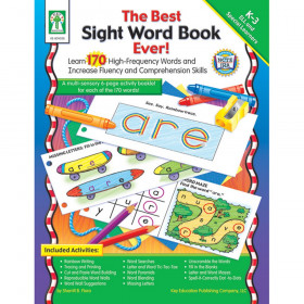 The Best Sight Word Book Ever! Resource Book, Grade K-3, Paperback