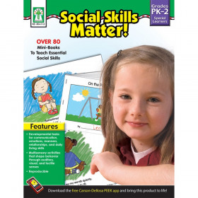 Social Skills Matter! Resource Book, Grade PK-2, Paperback