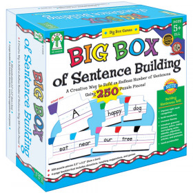 Big Box Of Sentence Building Game Age 5+