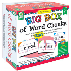 Big Box of Word Chunks Manipulative, Grade 1-3