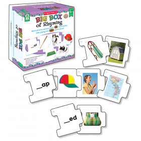 Big Box of Rhyming Puzzle, Grade Preschool-2