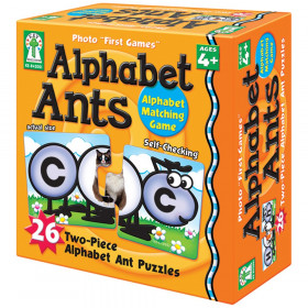 Photo First Game, Alphabet Ants
