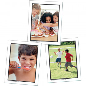Photographic Learning Cards Talk About A Childs Day