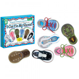 I Can Tie My Shoes Lacing Cards, Grade PK-1