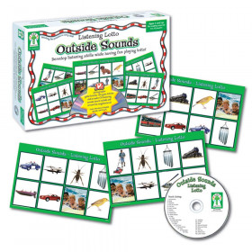 Listening Lotto: Outside Sounds Board Game, Grade PK-1