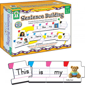 Sentence Building Board Game, Grade K-2