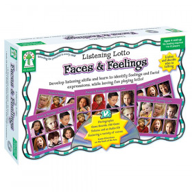 Listening Lotto: Faces and Feelings Board Game, Grade PK-1