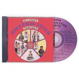 Simplified Rhythm Stick Activities CD