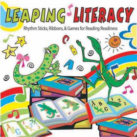 Leaping Literacy Rhythm Sticks Ribbons & Games Cd