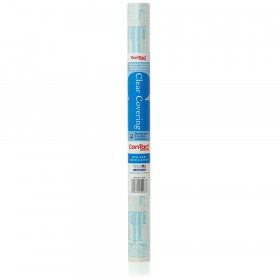 "Adhesive Roll, Clear, 18"" x 9 ft."
