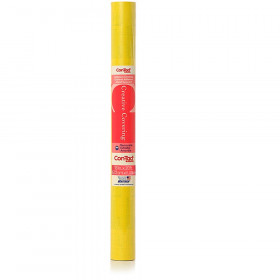 "Contact Adhesive Roll, Yellow, 18"" x 20 ft."