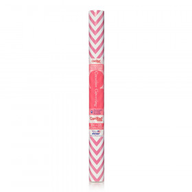 "Contact Adhesive Roll, Pink Chevron, 18"" x 20 ft."