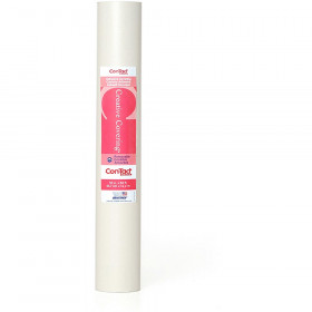"""Self-Adhesive Creative Covering, White, 18"""" x 60 ft"""