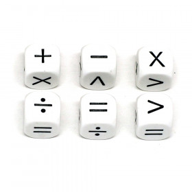 Operators Dice, Set of 6