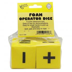 50mm Foam Dice 1 each 2F & 6F