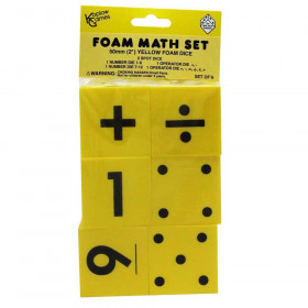 Foam Dice, Set of 6