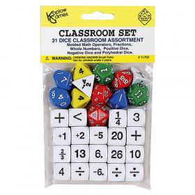 Classroom Dice, Set of 31