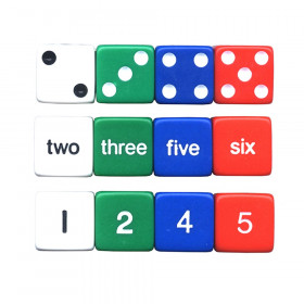 Number Dice, Set of 12
