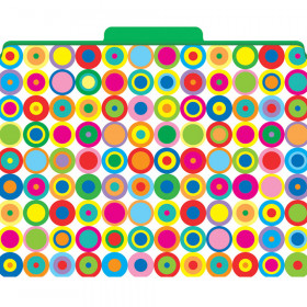 Functional File Folders Disco Dots
