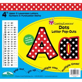 Dots Letter Pop-Outs