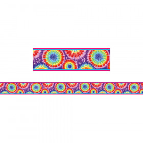 Tie Dye All-Around Border