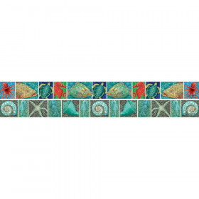 Surfs Up Coral Reef Double Sided Border